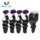 "Shinesilk Brazilian Body Wave Hair Bundles 100% Human Hair Non-Remy Hair Extensions Can Be Dyed 8""-26"""