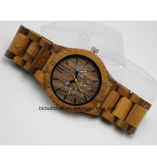 Multifunctional Wood Watch Chronograph Wooden Watches with 6 Hands