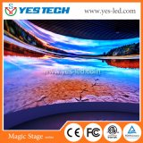 P2.84 Curved Indoor Advertising Full Color Electronic LED Display Sign
