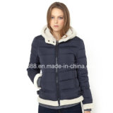 Ladies Short Padded Jacket with Hood Wholesale