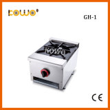 Commercial Cooking Equipment Hotel Table Top Temperature Controllers 1 Burner Gas Cooking Stove