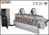 Multi-Head Engraving Cutting CNC Machine with Eight Spindles