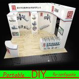 Customized Portable Modular Reusable Exhibition Booth Stand Design