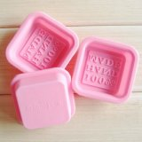 Cube Shape Handmade Crafts Silicone Mold for Making Soap