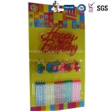 Competitive Price Colorized Popular Decorative Taper Candles for Birthday Party