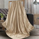 Taihu Snow Silk High Quality Luxury Light and Soft Summer Travel Baby Used Silk Throw Blanket