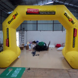 Yellow Inflatable Advertising Arch (AC-081)