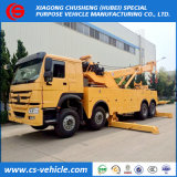 HOWO Recovery Truck China Rotator Heavy Wrecker Cheap Road Wrecker Tow Truck for Sale