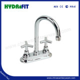 Basin Water Tap/Faucet, 4 Inch or 8 Inch Cross Handle South American Market (FA4805)