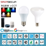 Smarsecur WiFi Smart E27 RGBW Bulb Dimmable Work with Tuya Smart Life
