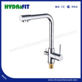 Hot Sale Zinc Sink Faucet Bathroom Accessory Single Handle (FT823)