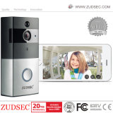 Wireless WiFi Color Video Door Phone with Battery Backup