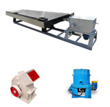Gold Gravity Processing Machine, Hammer Crusher, Shaking Table and Centrifugal Gold Separator Lab Mini Small Line