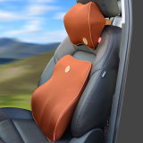 Wholesale Adjustable Strap Memory Foam Car Headrest Neck Support Pillow