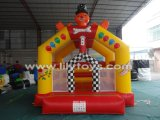 Purple Inflatable Combo/Inflatable Castle Bouncer