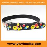 Interesting Smile Face Print Lady Belt