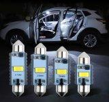 2021 High Brightness Canbus No Alarming Error Car LED 12V 24V Festoon 31mm 36mm 39mm 41mm Car License Plate Light