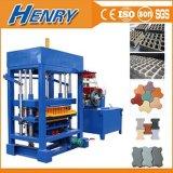 Qt4-30 Hydralic and Disel Engine Concrete Hollow Block Brick Paver Block Machine