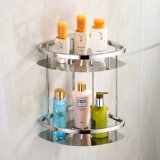 China Manufacture Stainless Steel Double Corner Shower Caddy Bathroom Accessories