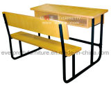 Classroom Wooden School Desk with Free Sample