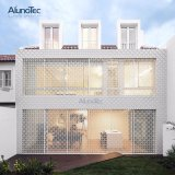 China Color Painted Aluminum Perforated Wall Panels Price