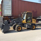 Ce Approved Articulated 0.8 Ton Small Loader with Rops&Fops Cabin