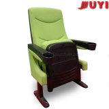 Jy-616 Factory Price Fabric Chair with Arm Chair with Cup Holder for Sale Plastic Armrest Chair