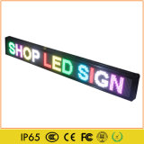 Indoor P5 RGB LED Moving Colorful Text Sign Board