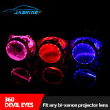 360 Devil Eyes Fit Any Bi-Xenon Projector Lens Angel Eyes