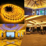 16.4FT/5m IP65 Warm White LED Strip Light, Flexible LED Low Power Consumption SMD5730 for Home Indoor Festival Decoration