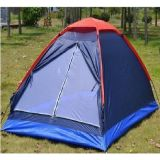 Folding Waterproof Single-Layer Double Tent