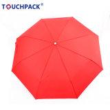 Wholesale Price Cheap Fold Umbrella Plaid Design or Solid Color Umbrella