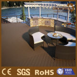 WPC Coextrusion Terrace Flooring, Outdoor Composite Decking