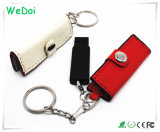 New Wallet Shaped Leather USB Flash Disk with Low Cost (WY-L22)