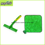 Silicon Squeegee for Car Cleaning with Microfiber Towel Corner Brush