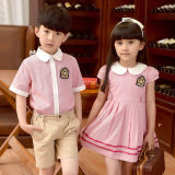 Factory Customize Cheaper High Quality Fashion Cotton School Uniform