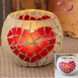 Wholesale Mosaic Glass Candle Holder Candle Cup for Home Decoration