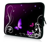 "Butterfly 13"" 13.3"" Inch Neoprene Laptop Case Notebook Bag Pouch Cover Sleeve"