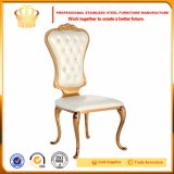 Modern Stainless Steel Banquet Gold Dining Chair for Weddings Made in China