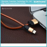 2017 USB2.0 Fast Charging Leather Lightning Cable for iPhone5 5s 6 6s 7