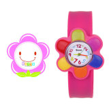 Cheap Promotional Silicone Slap Cartoon Children Watch Band