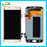 Wholesale Golden Mobile Phone LCD Display Digitizer Assembly for Sumsung S6 Edge G925W