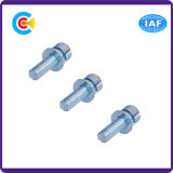 304/Carbon Steel M6/Galvanized/Hexagon Cheese Head Screws for Motorcycle with Washer
