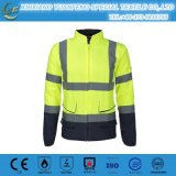 Hi Vis Insulated Bomber Reflective Jacket Coat Pants Road Work Safety Reflect Jacket