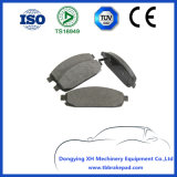 Cressida Low Noise Semi Metallic Painted Plastic Front Brake Pad for Jeep D1080