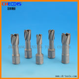Carbide Tipped Core Drill with Weldon Shank Version P