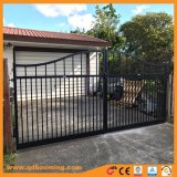 Aluminum Arch Black Stain Powder Coated Gate