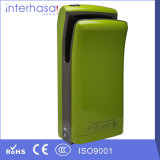 Washroom Sanitary Ware, Hygiene High Speed Blue Commercial CE and RoHS Double Jet Hand Dryer