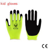 13/15 Gague Protect Gloves for Children, Kids′ Latex Work Safety Gloves