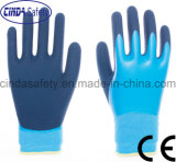 Latex Coated Labour Protective Industrial Working Safety Gloves